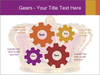 Crown With Gemstones PowerPoint Templates - Slide 47
