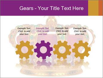 Crown With Gemstones PowerPoint Templates - Slide 48