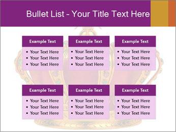 Crown With Gemstones PowerPoint Templates - Slide 56