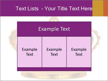 Crown With Gemstones PowerPoint Templates - Slide 59
