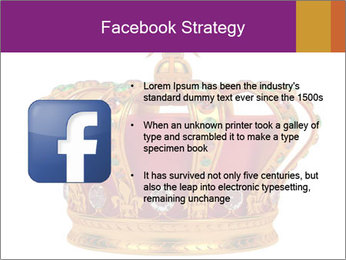 Crown With Gemstones PowerPoint Templates - Slide 6