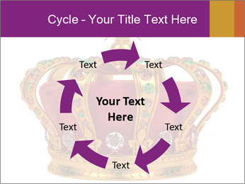 Crown With Gemstones PowerPoint Templates - Slide 62