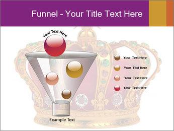 Crown With Gemstones PowerPoint Templates - Slide 63