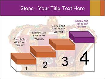 Crown With Gemstones PowerPoint Templates - Slide 64