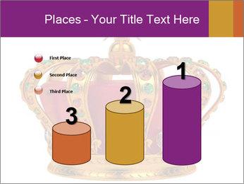 Crown With Gemstones PowerPoint Templates - Slide 65
