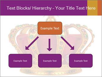 Crown With Gemstones PowerPoint Templates - Slide 69