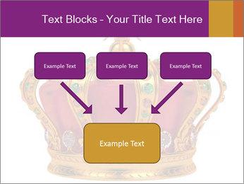 Crown With Gemstones PowerPoint Templates - Slide 70