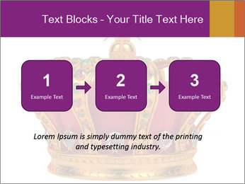 Crown With Gemstones PowerPoint Templates - Slide 71