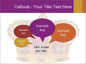 Crown With Gemstones PowerPoint Templates - Slide 73