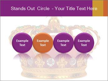 Crown With Gemstones PowerPoint Templates - Slide 76