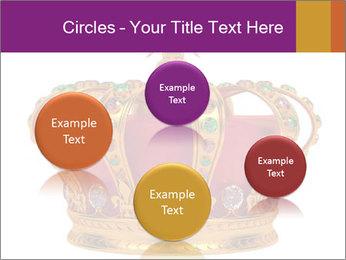 Crown With Gemstones PowerPoint Templates - Slide 77