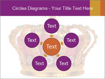 Crown With Gemstones PowerPoint Templates - Slide 78
