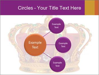 Crown With Gemstones PowerPoint Templates - Slide 79