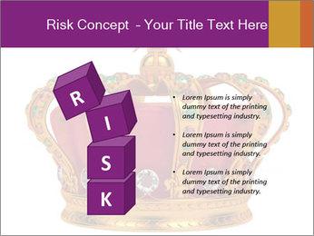 Crown With Gemstones PowerPoint Templates - Slide 81