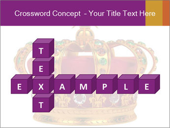 Crown With Gemstones PowerPoint Templates - Slide 82