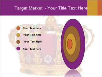 Crown With Gemstones PowerPoint Templates - Slide 84
