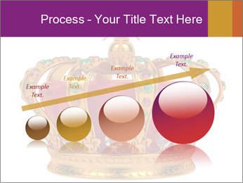 Crown With Gemstones PowerPoint Templates - Slide 87