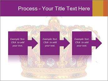 Crown With Gemstones PowerPoint Templates - Slide 88