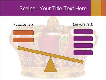 Crown With Gemstones PowerPoint Templates - Slide 89