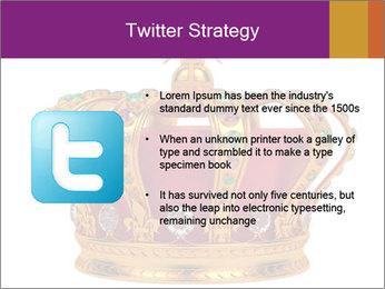 Crown With Gemstones PowerPoint Templates - Slide 9