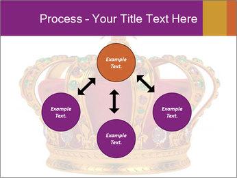 Crown With Gemstones PowerPoint Templates - Slide 91