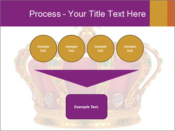 Crown With Gemstones PowerPoint Templates - Slide 93