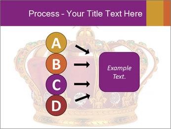 Crown With Gemstones PowerPoint Templates - Slide 94