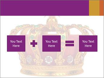 Crown With Gemstones PowerPoint Templates - Slide 95