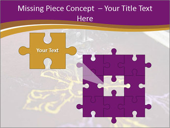 Golden Cross PowerPoint Templates - Slide 45