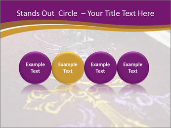 Golden Cross PowerPoint Templates - Slide 76