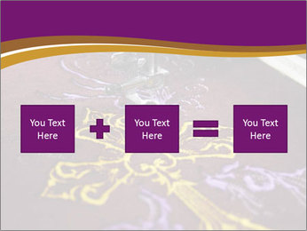 Golden Cross PowerPoint Templates - Slide 95