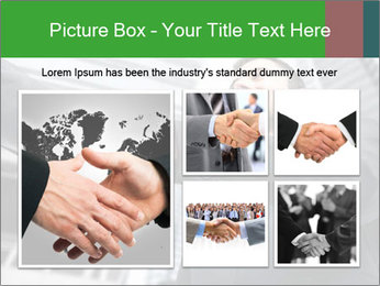 Business Way Of Greeting PowerPoint Template - Slide 19
