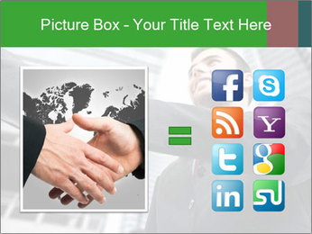 Business Way Of Greeting PowerPoint Template - Slide 21