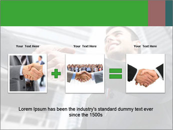 Business Way Of Greeting PowerPoint Template - Slide 22