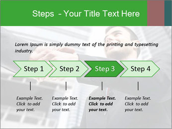 Business Way Of Greeting PowerPoint Template - Slide 4