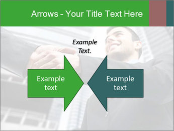 Business Way Of Greeting PowerPoint Template - Slide 90