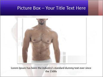 Hot African Man PowerPoint Template - Slide 16