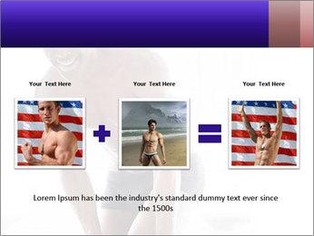 Hot African Man PowerPoint Template - Slide 22