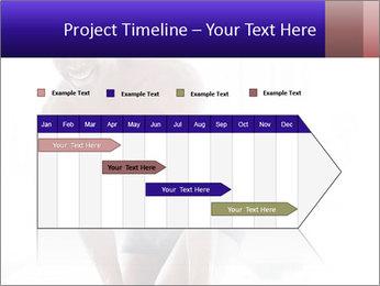 Hot African Man PowerPoint Template - Slide 25