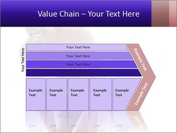 Hot African Man PowerPoint Template - Slide 27