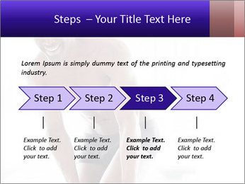 Hot African Man PowerPoint Templates - Slide 4