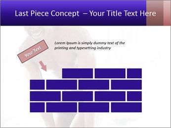 Hot African Man PowerPoint Template - Slide 46