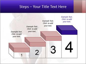Hot African Man PowerPoint Template - Slide 64