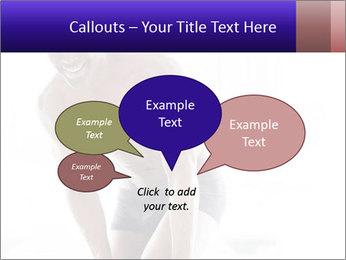 Hot African Man PowerPoint Template - Slide 73