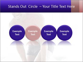 Hot African Man PowerPoint Template - Slide 76