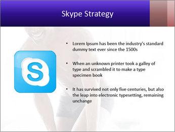 Hot African Man PowerPoint Templates - Slide 8