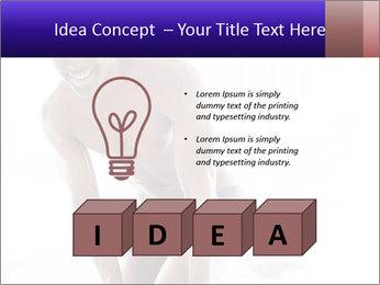 Hot African Man PowerPoint Template - Slide 80