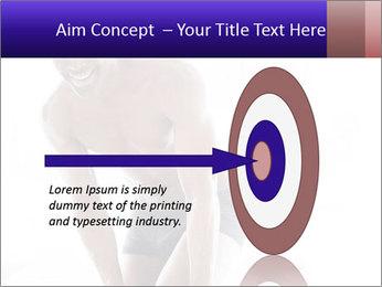 Hot African Man PowerPoint Templates - Slide 83