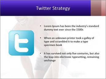Hot African Man PowerPoint Template - Slide 9