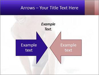 Hot African Man PowerPoint Templates - Slide 90